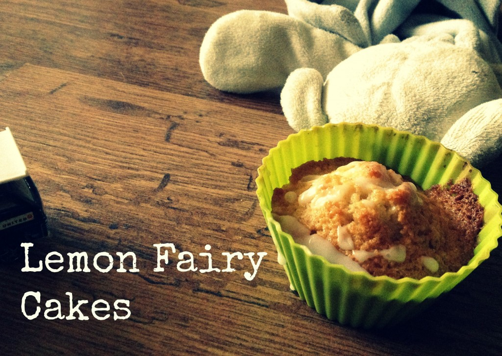 lemon fairy cakes