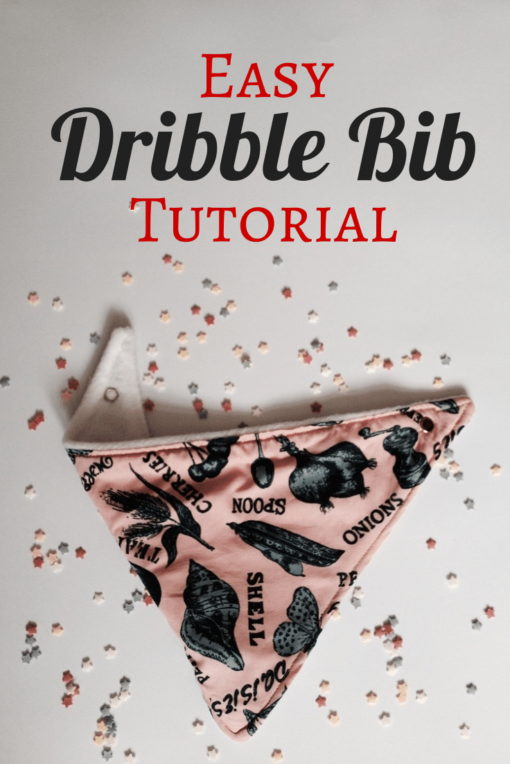 How to make dribble bibs - Crafts on Sea
