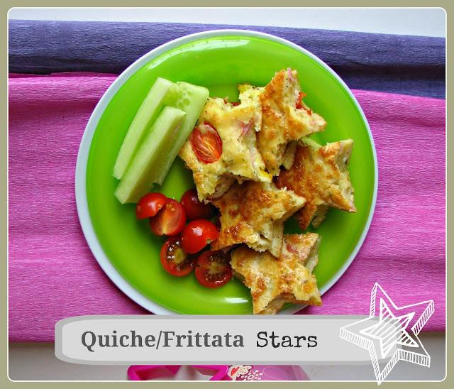 quiche frittata stars