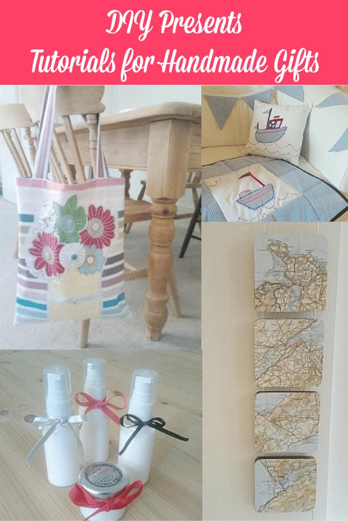 DIY Presents Tutorials for Handmade Gifts