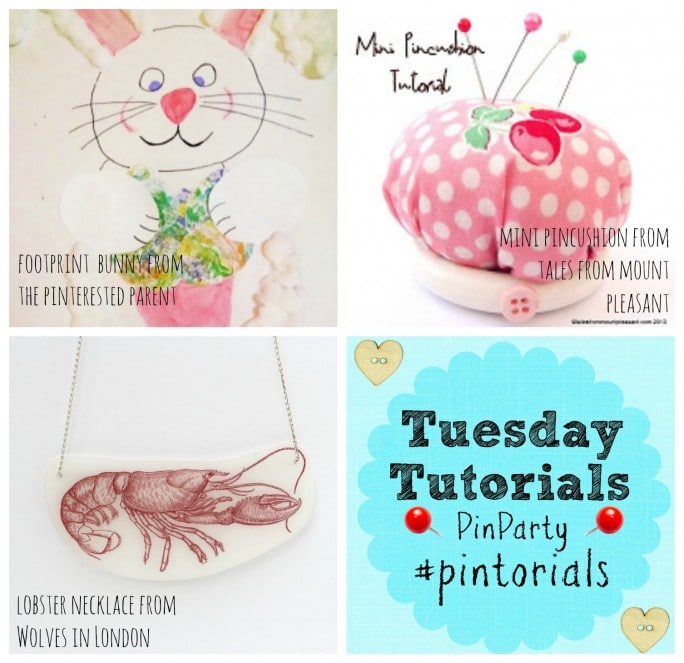 Tuesday Tutorials Pin It Party and Linky 18 March