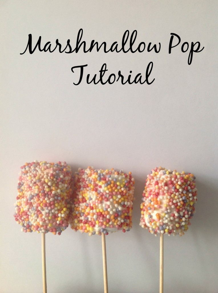 marshmallow pop tutorial