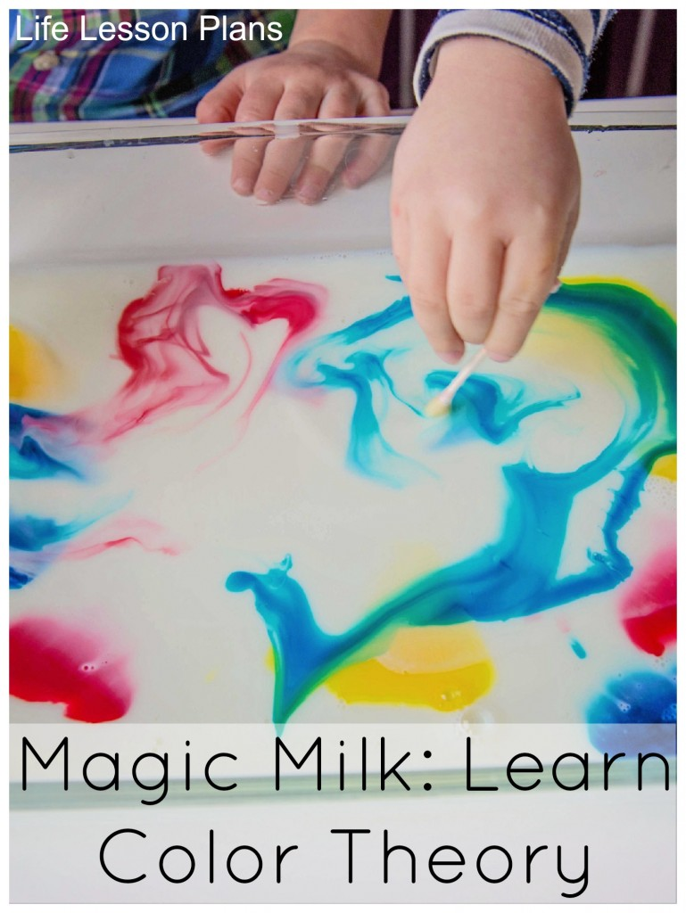 rainbow magic milk