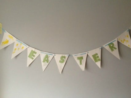 Childrens Easter Bunting