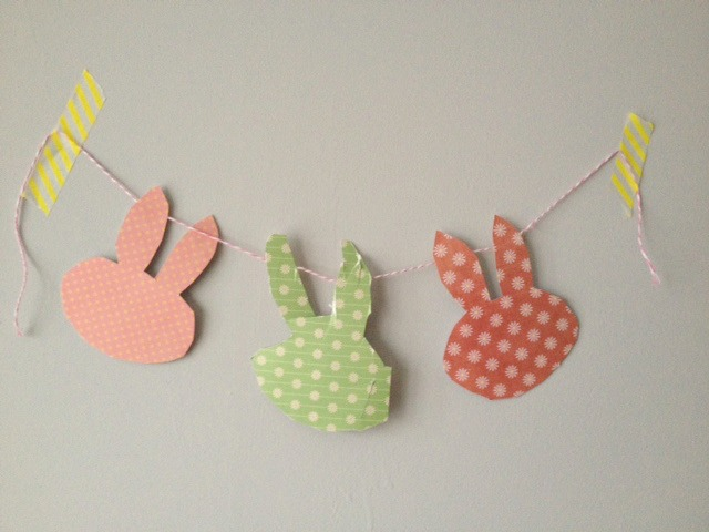 miffy bunny easter bunting