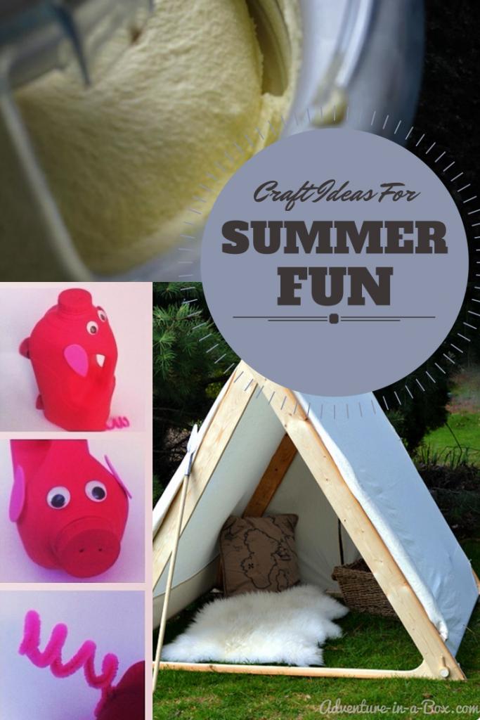 craft ideas for summer fun