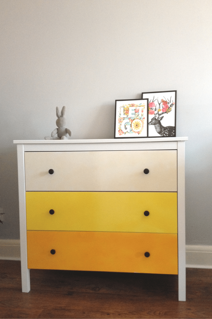 Ombre Chest of Drawers Tutorial