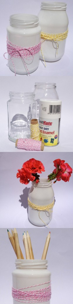 Upcycled Jam Jar Craft ideas