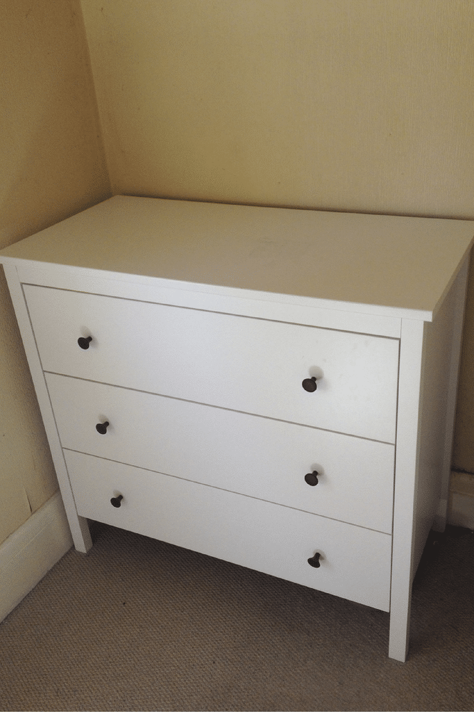 chest of drawers ikea hack