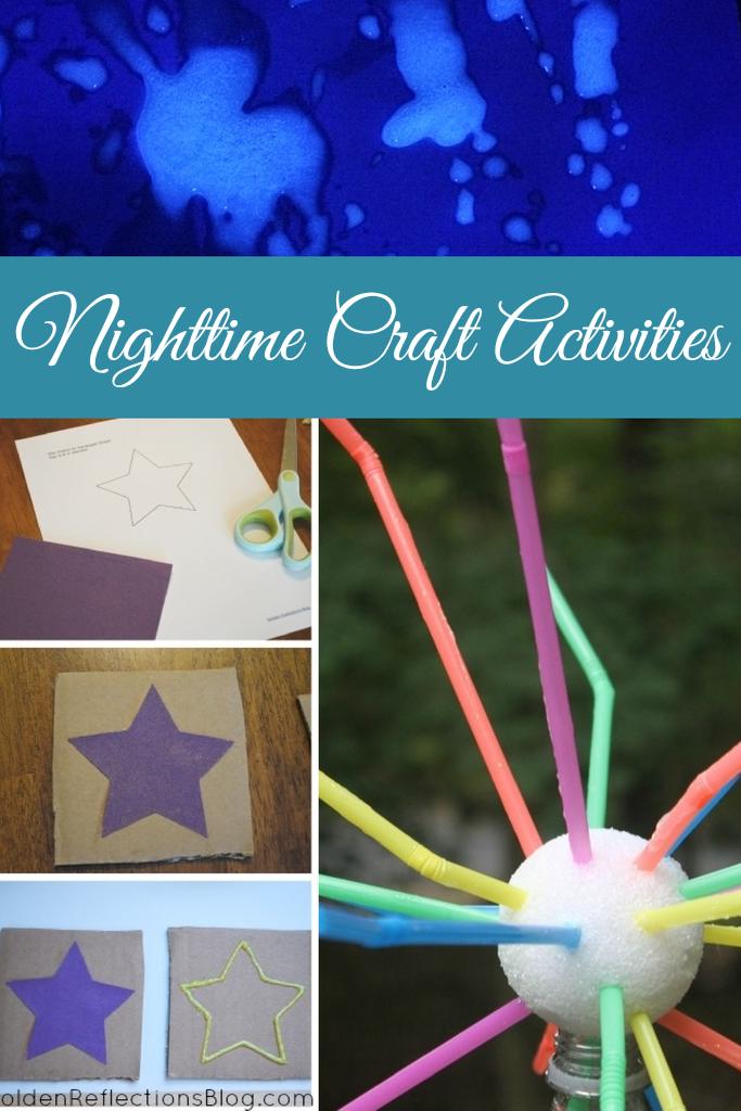 nighttime craft activities