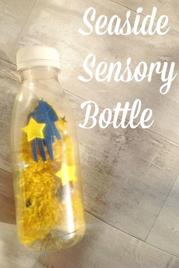 seaside sensory bottle