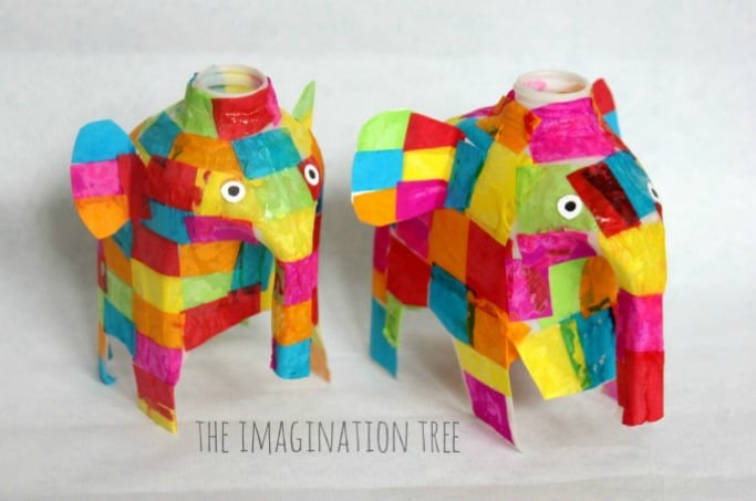 Elmer-elephant-milk-jug-craft-imaginationtree