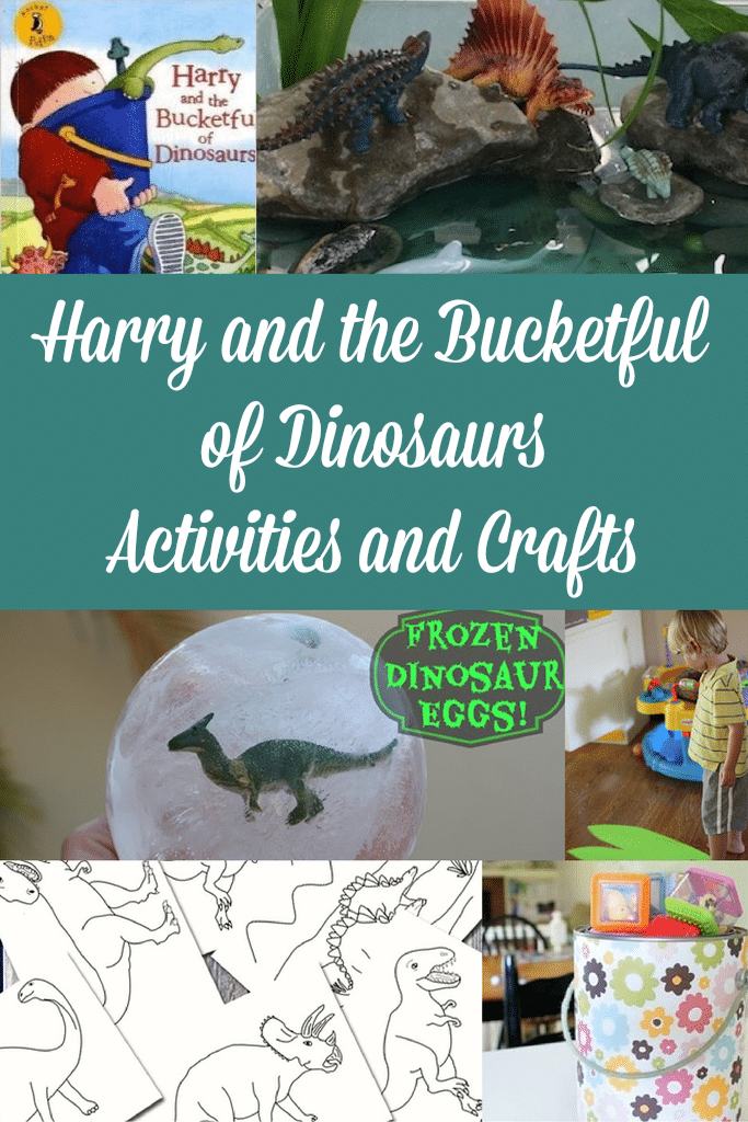 Harry and the Bucketful of Dinosaurs Activities and Crafts