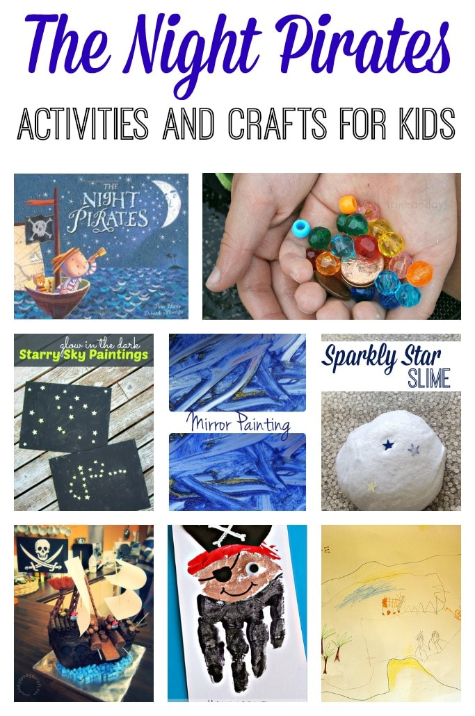 The Night Pirates Activities and Crafts for Kids