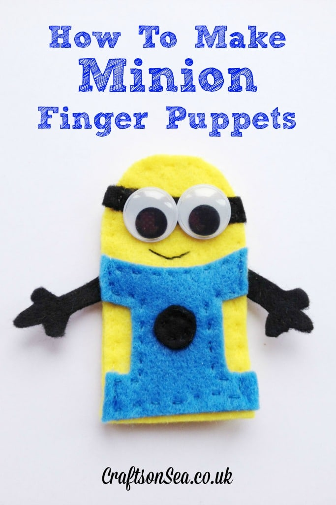 How to make Minion finger puppets - Crafts on Sea 6fabf2319531