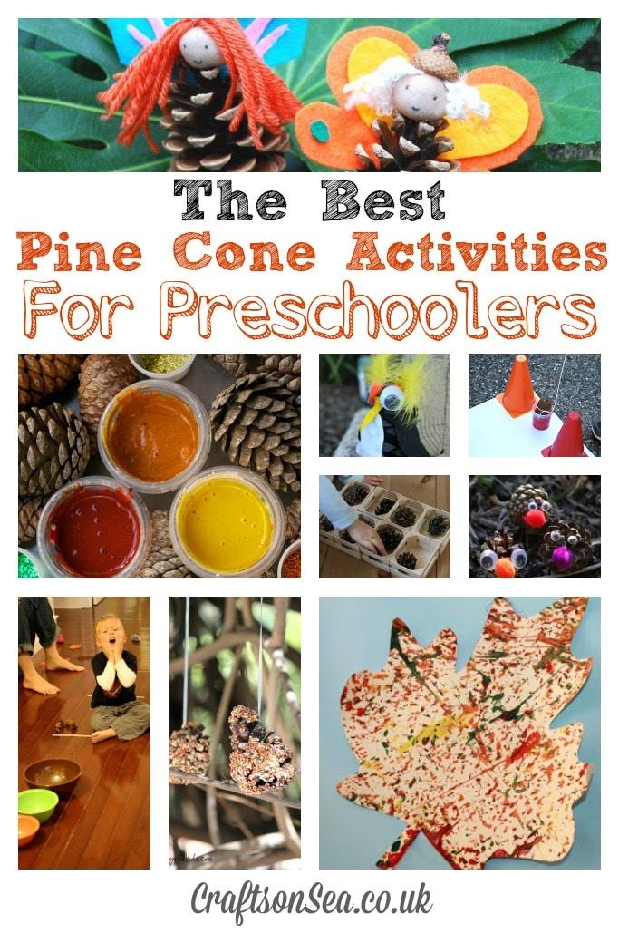 Pine Cone Activities for Preschoolers