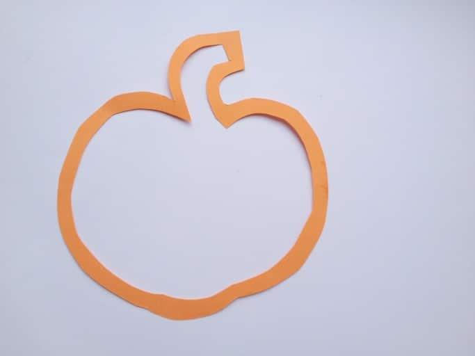 Pumpkin craft template