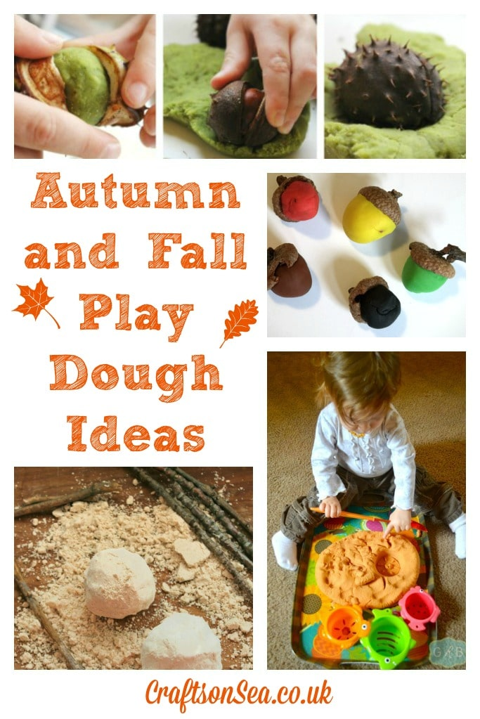 Autumn and Fall Play Dough Ideas
