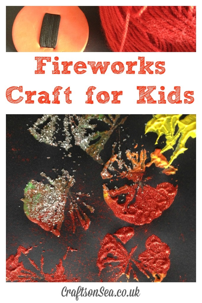 Fireworks Craft for Kids