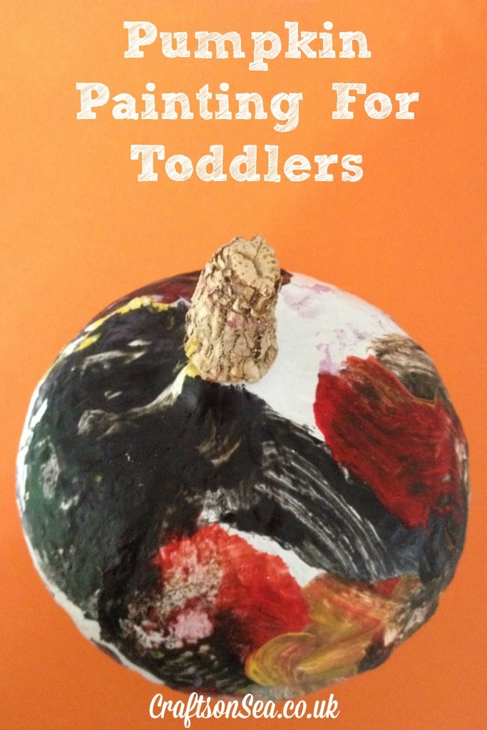 pumpkin painting for toddlers