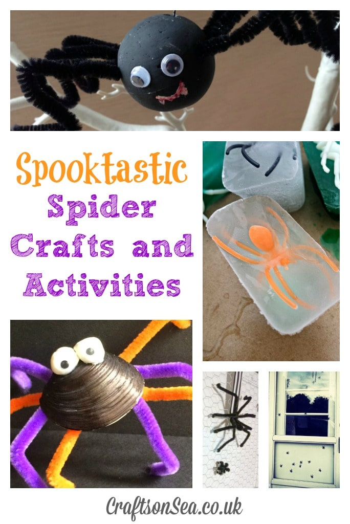 spider crafts and activities