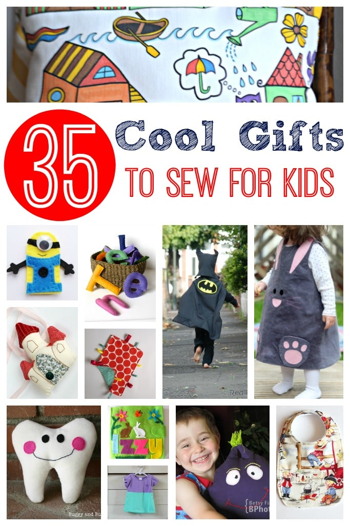 Cool Gifts to Sew for Kids