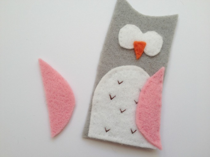 owl finger puppet tutorial