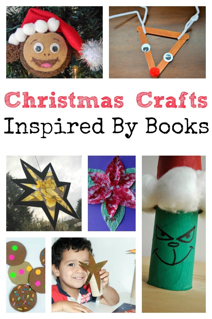 I'm officially doing the 'It's nearly Christmas' dance this week as our tree is up, whoop! One of the ways we're getting into the spirit of things is by reading loads of Christmas stories, so for this weeks Tuesday Tutorials I'm sharing some Christmas crafts inspired by books that have been linked up here!