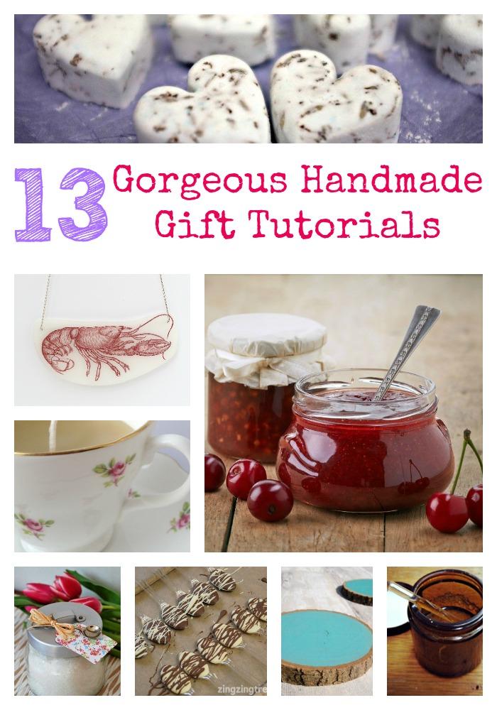 Handmade Gift Tutorials
