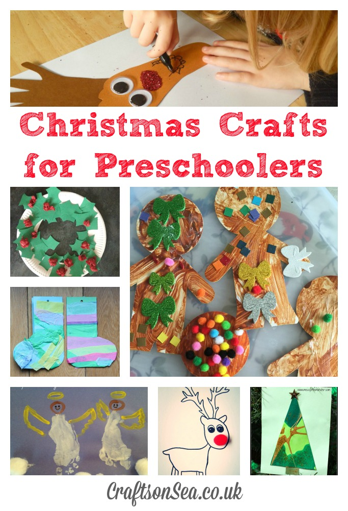 Christmas crafts for preschoolers crafts on sea for Christmas crafts for pre schoolers