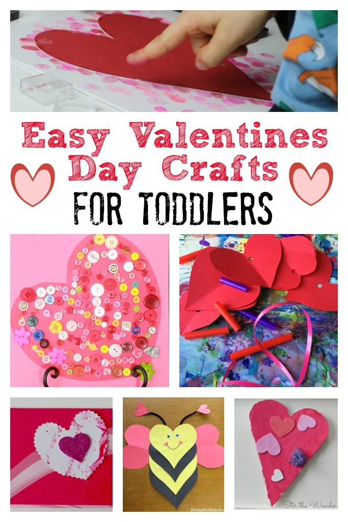 Valentines day crafts for toddlers crafts on sea for Valentines day art and crafts for preschoolers