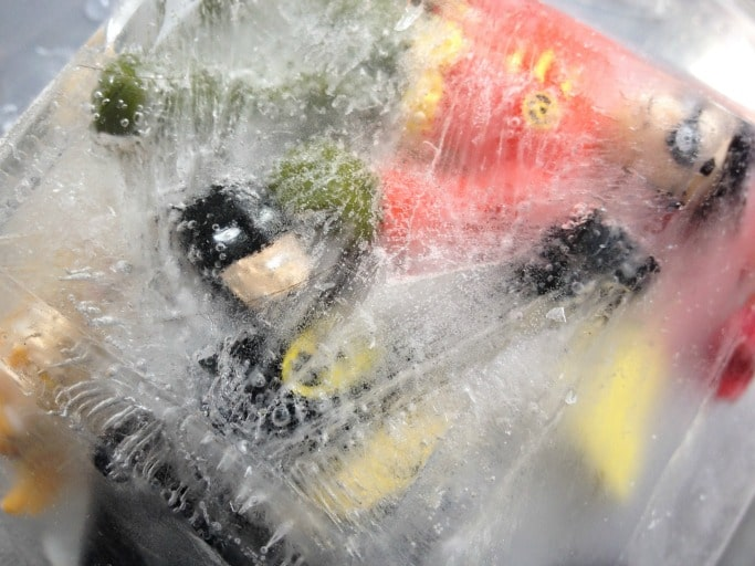 batman science activity ice