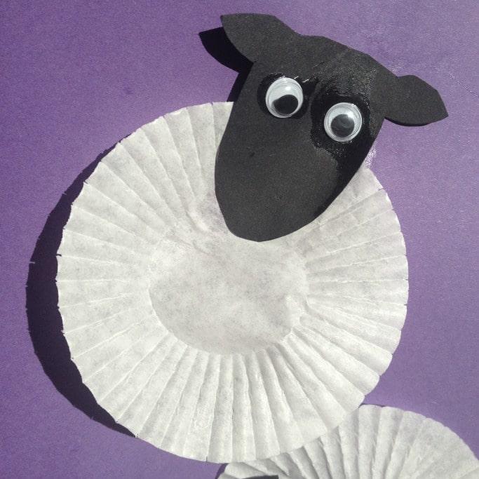 kids chinese new year sheep craft