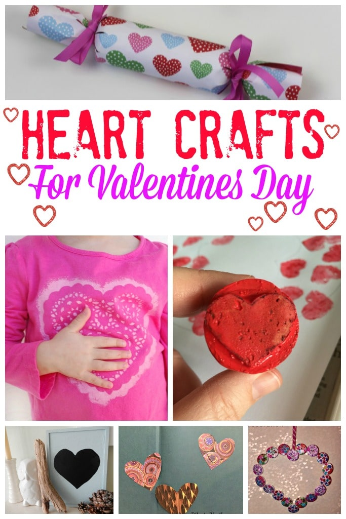 Heart Crafts for Valentines Day