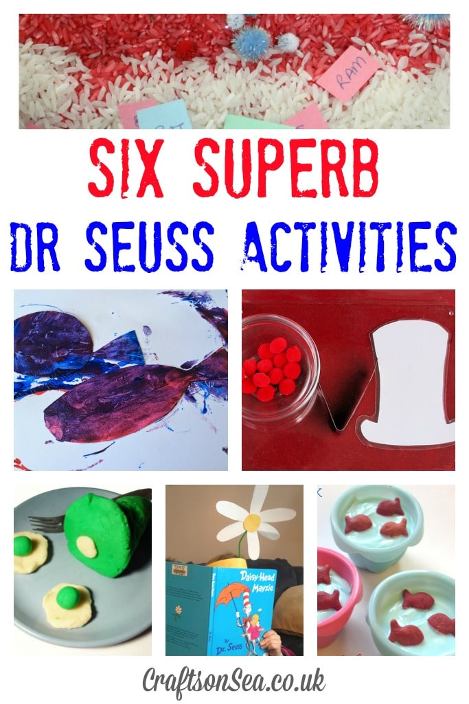 Six Superb Dr Seuss Activities
