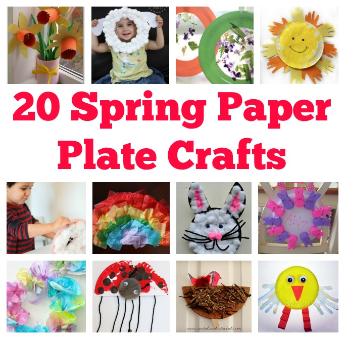 20 Spring Paper Plate Crafts For Kids
