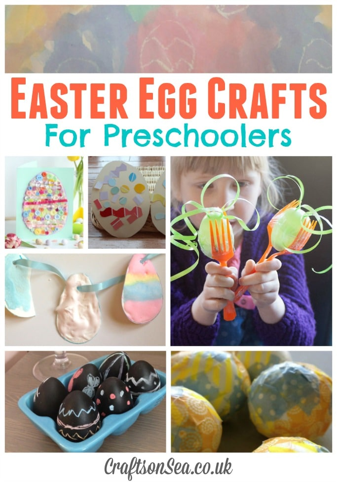 easter craft ideas preschoolers easter egg crafts for preschoolers crafts on sea 4310