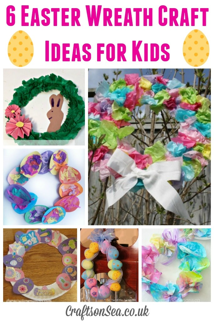 Easter Wreath Craft Ideas for Kids