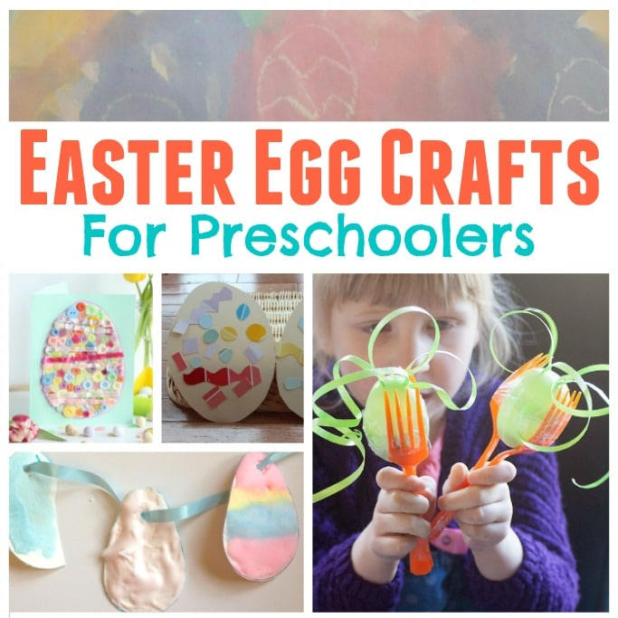 Easy Easter Egg Crafts for Preschoolers