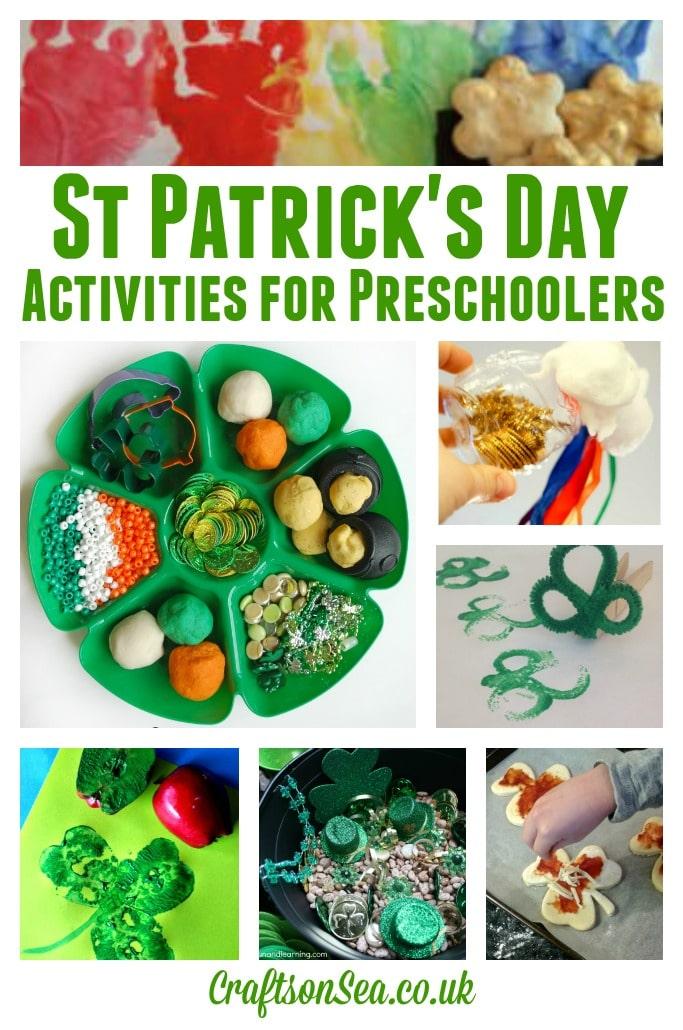 St Patricks Day Activities for Preschoolers