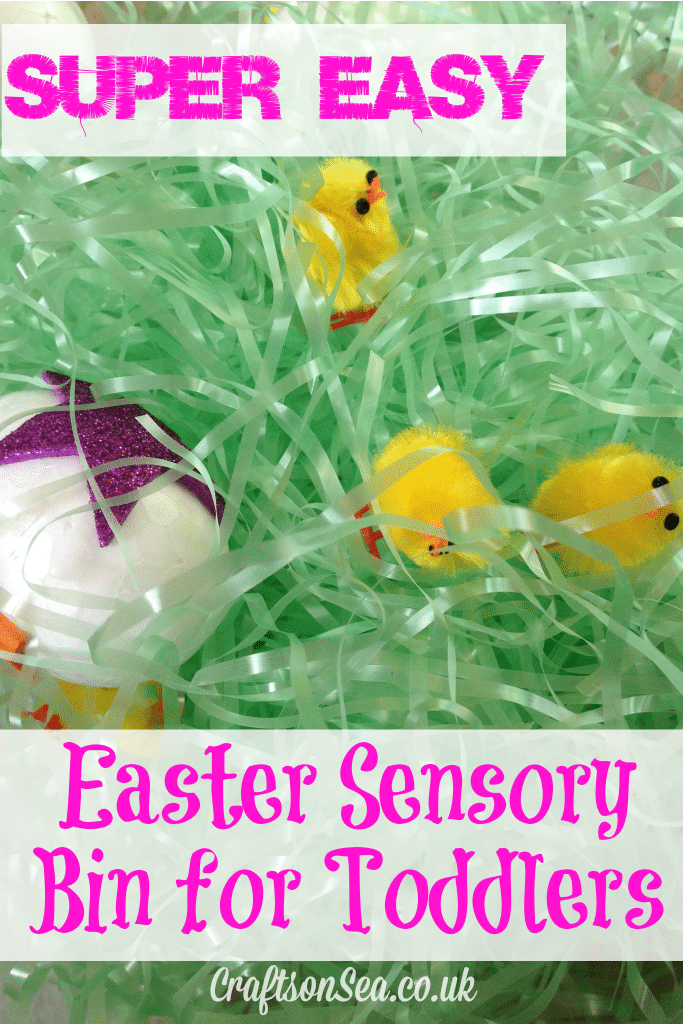 Easy Easter Sensory Bin For Toddlers Crafts On Sea