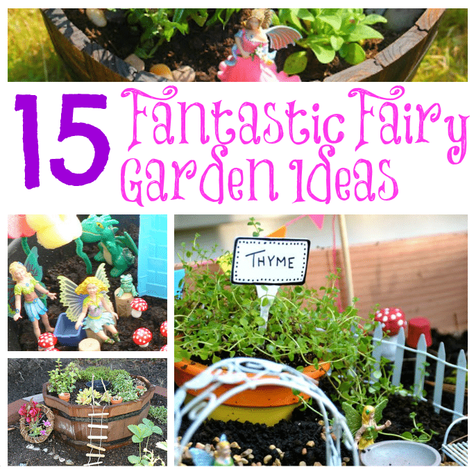 Fantastic Fairy Garden Ideas and inspiration