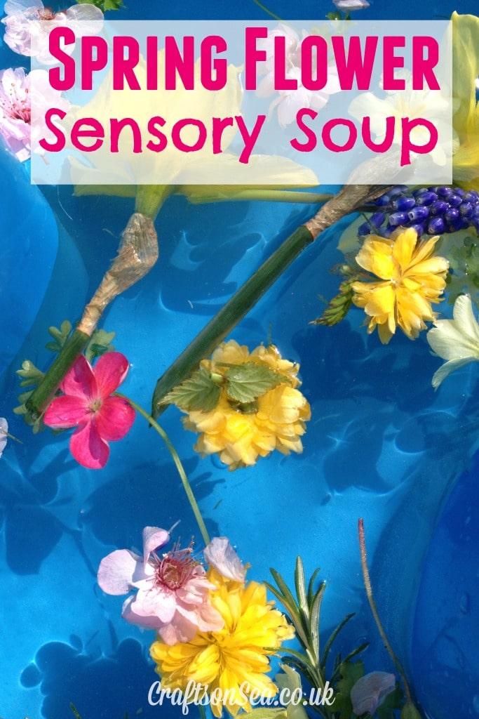 Spring Flower Sensory Soup