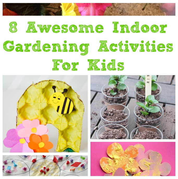 gardening activities for kids for indoors