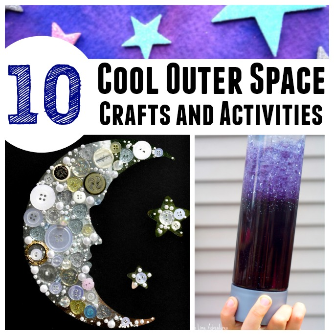 outer space crafts and activities for kids