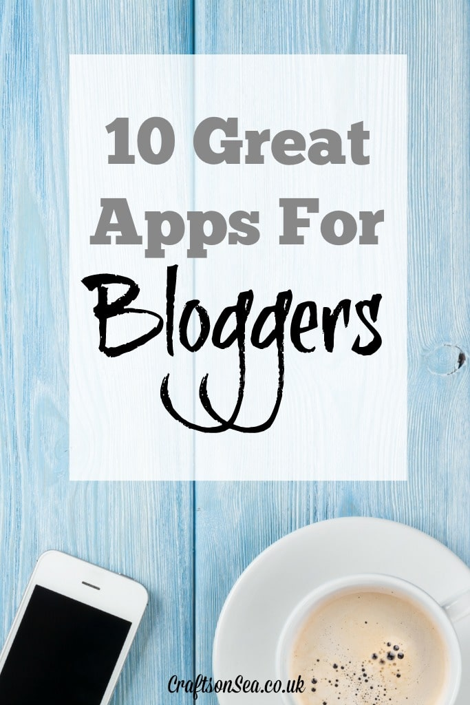 10 Great Apps for Bloggers