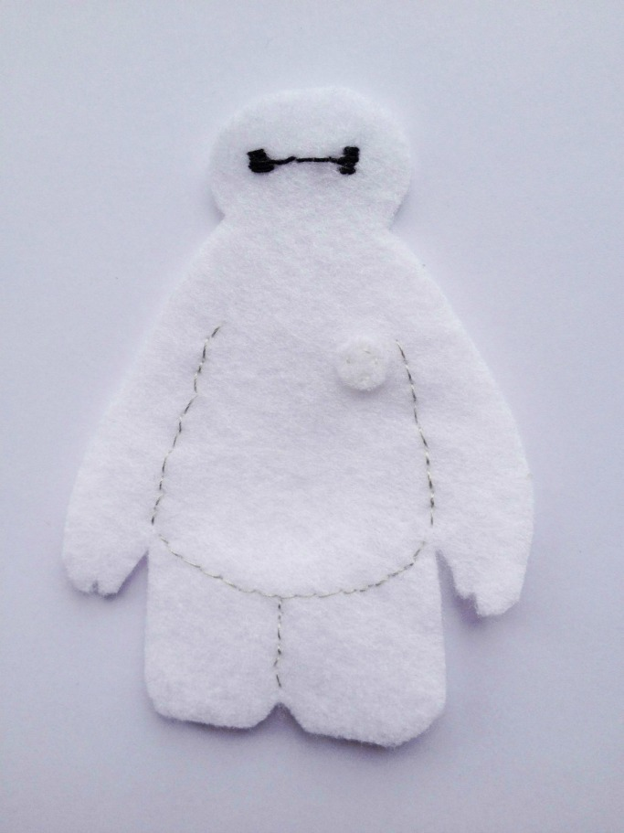 how to make a baymax puppet